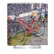 Cambridge Bikes 1 Shower Curtain