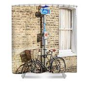 Cambridge Bikes 5 Shower Curtain