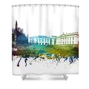 Cambridge Cityscape 01 Shower Curtain