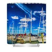 Cambridge Marina Shower Curtain