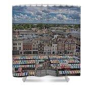 Cambridge Market Shower Curtain