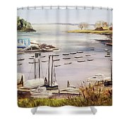 Camden Docks Shower Curtain