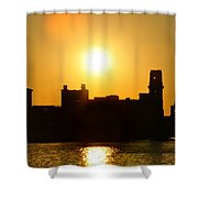 Camden Sunrise Shower Curtain