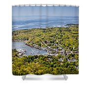 Camden View Shower Curtain by Susan Cole Kelly