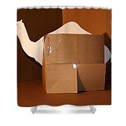 Camel 1 Shower Curtain