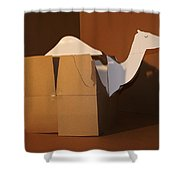 Camel 3 Shower Curtain