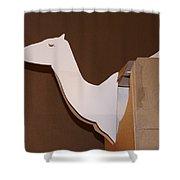 Camel 4 Shower Curtain