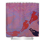 Camel Shepard Shower Curtain