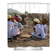 Camel Traders Pushkar Shower Curtain
