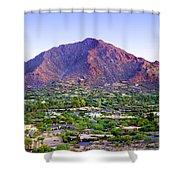 Camelback Mountain, Phoenix, Arizona Shower Curtain