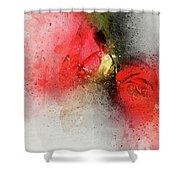 Camellia Burst Shower Curtain