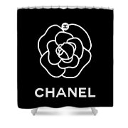 Camellia Chanel Shower Curtain