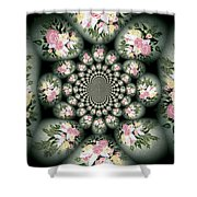 Cameo Bouquet Shower Curtain