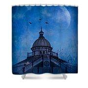 Camera Obscura - Eastbourne Pier Shower Curtain