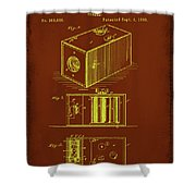 Camera Patent Drawing 1a Shower Curtain