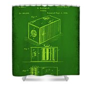 Camera Patent Drawing 1g Shower Curtain