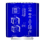 Camera Patent Drawing 2h Shower Curtain