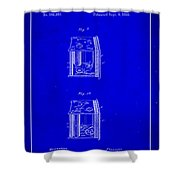 Camera Patent Drawing 3a Shower Curtain