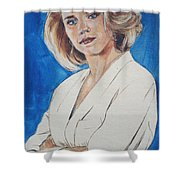 Cami Cooper Shower Curtain