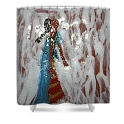 Camille - Tile Shower Curtain