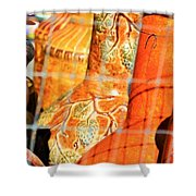 Cammo Pottery Shower Curtain