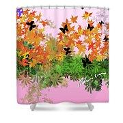 Camo Nature Range Shower Curtain