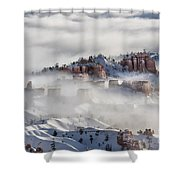 Camouflage - Bryce Canyon, Utah Shower Curtain