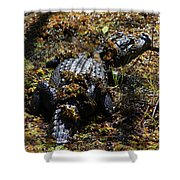 Camouflage Shower Curtain by Carol Groenen