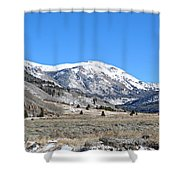 Camp Hale Historical Area Shower Curtain