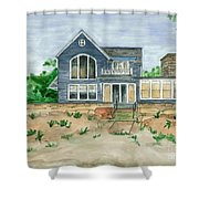 Camp In Vermont Shower Curtain