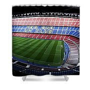 Camp Nou Shower Curtain