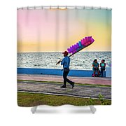 Campeche Colors Shower Curtain