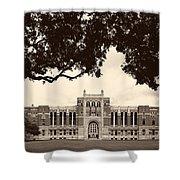 Campus Of Rice University Shower Curtain