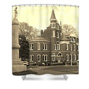 Campus View Shower Curtain
