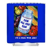 Can All You Can -- Ww2 Shower Curtain