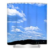 Can I Hitch A Ride? Shower Curtain