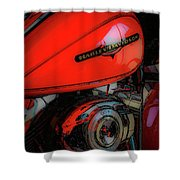 Can You Feel The Rumble 4420 G_2 Shower Curtain