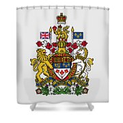 Canada Coat Of Arms Shower Curtain