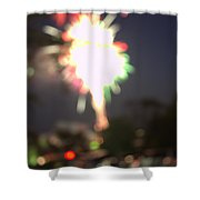 Canada Day 150 Lights 5 Shower Curtain