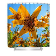 Canada Lily Shower Curtain
