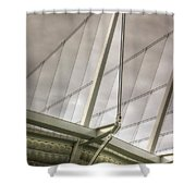 Canada Place Wings  Shower Curtain