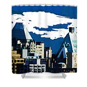 Canada Towers Shower Curtain