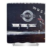 Canada Water Music Shower Curtain