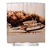 Canadair Shower Curtain