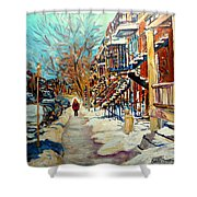 Canadian Art And Canadian Artists Shower Curtain