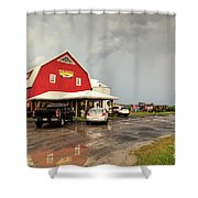 Canadian Farm After Storm Shower Curtain