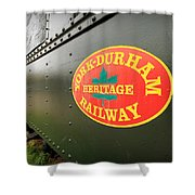 Canadian Heritage Train Shower Curtain