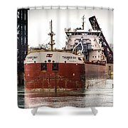 Canadian Laker Thunder Bay Shower Curtain