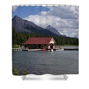 Canadian Rockies # 10 Shower Curtain