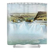 Canadian Water Fall Shower Curtain